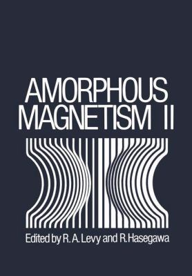 Amorphous Magnetism 9780306344121