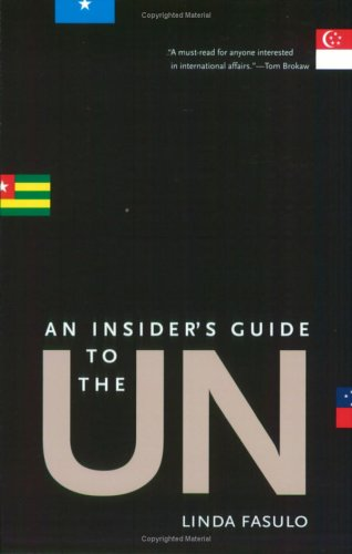 Insiders Guide to the Un 9780300107623
