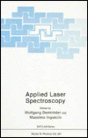 Applied Laser Spectroscopy 9780306437175