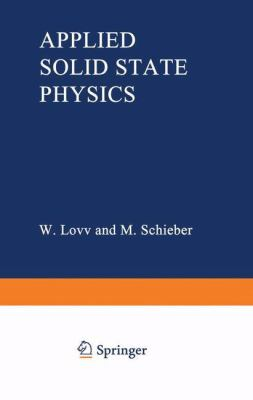 Applied Solid State Physics 9780306304859