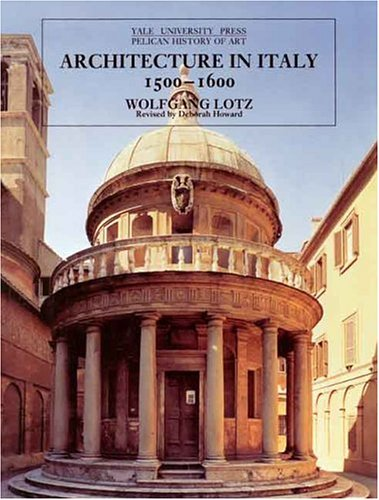 Architecture in Italy 1500-1600 9780300064698