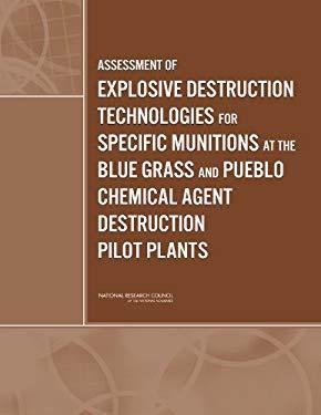 Assessment of Explosive Destruction Technologies for Specific Munitions at the Blue Grass and Pueblo Chemical Agent Destruction Pilot Plants 9780309126830