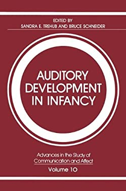 Auditory Development in Infancy 9780306417573