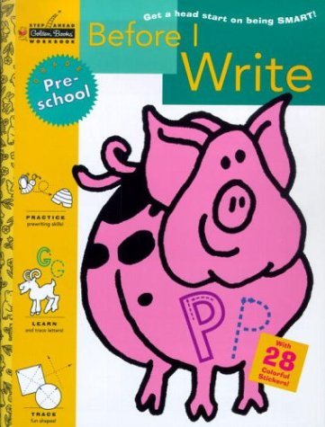 Before I Write (Preschool)