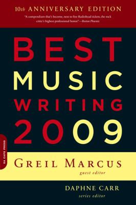 Best Music Writing 2009 9780306817823