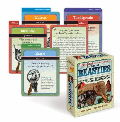 Box of Beasties: 100 Bewildering Trivia Flash Cards 9780307460349