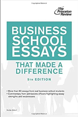 Business School Essays That Made a Difference, 5th Edition 9780307945235