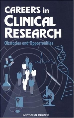 Careers Clinical Research 9780309048903