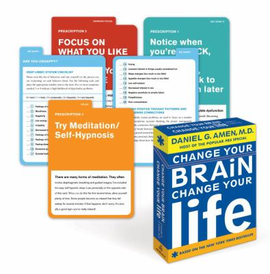 Change Your Brain, Change Your Life Flashcards 9780307464576