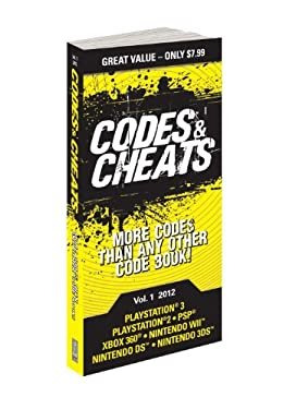 Codes & Cheats Vol.1 2012: Prima Game Guide 9780307894311