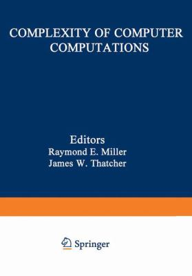 Complexity of Computer Computations 9780306307072