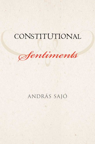 Constitutional Sentiments 9780300139266