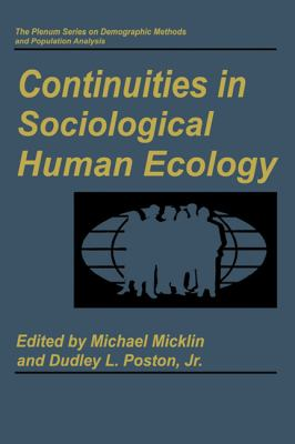 Continuities in Sociological Human Ecology 9780306456107