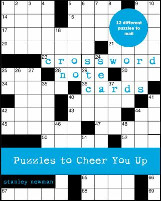 Crossword Note Cards: Puzzles to Cheer You Up 9780307337054