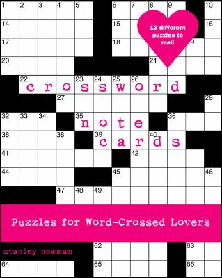 Crossword Note Cards: Puzzles for Word-Crossed Lovers 9780307337061
