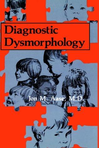 Diagnostic Dysmorphology 9780306434440