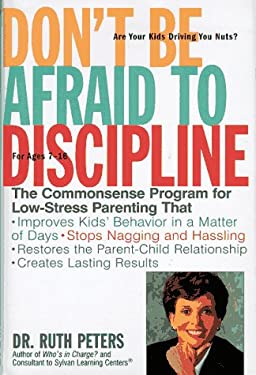 Don't Be Afraid to Discipline 9780307440013