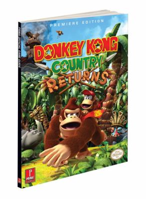 Donkey Kong Country Returns [With Poster] 9780307471024