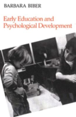 Early Education and Psychological Development 9780300039191