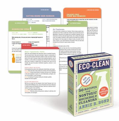 Eco-Clean Deck: 50 Recipes for Nontoxic Household Cleaners 9780307591616