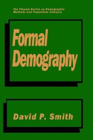 Formal Demography 9780306438691