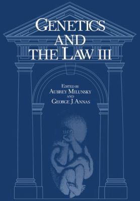 Genetics and the Law 9780306419836
