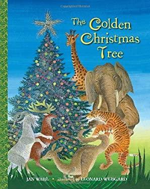 Golden Christmas Tree Bk