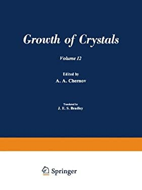 Growth of Crystals 9780306181122