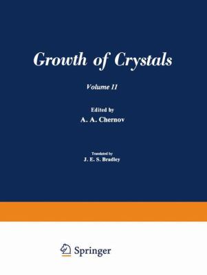 Growth of Crystals 9780306181115