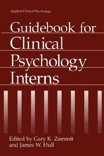 Guidebook for Clinical Psychology Interns 9780306448591
