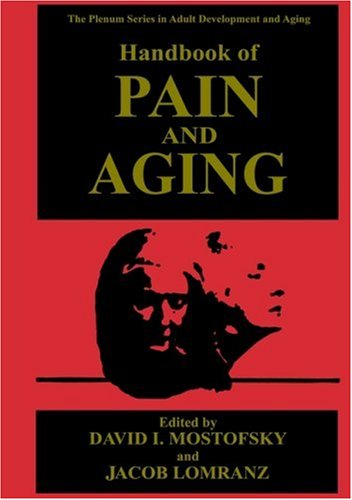 Handbook of Pain and Aging 9780306454585