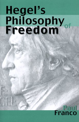 Hegel's Philosophy of Freedom 9780300078329