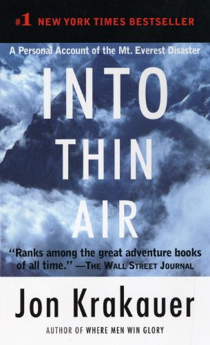 Into Thin Air: A Personal Account of the Mount Everest Disaster 9780307475251