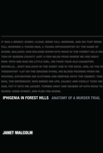 Iphigenia in Forest Hills: Anatomy of a Murder Trial 9780300167467