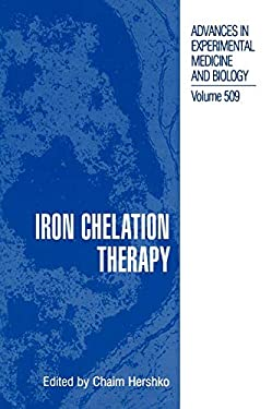 Iron Chelation Therapy 9780306467851