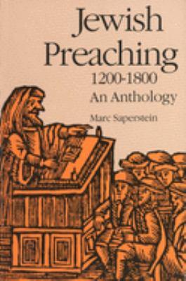 Jewish Preaching, 1200-1800: An Anthology 9780300052633