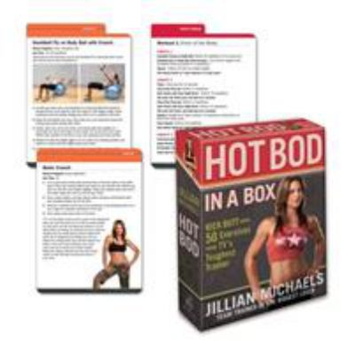 Jillian Michaels Hot Bod in a Box: Kick Butt with 50 Exercises from TV's Toughest Trainer 9780307450517