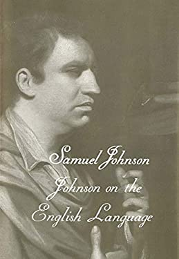 Johnson on the English Language 9780300106725