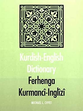 Kurdish-English Dictionary 9780300091526