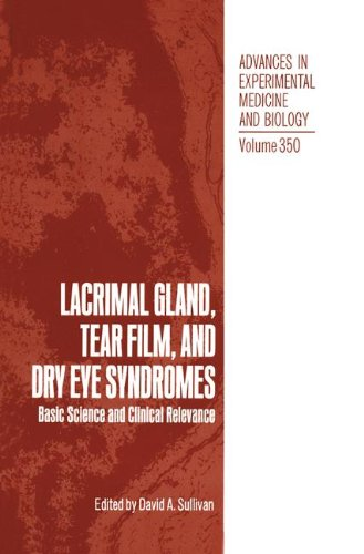 Lacrimal Gland, Tear Film and Dry Eye Syndromes: Basic Science and Clinical Relevence 9780306446764