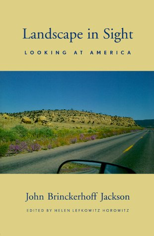 Landscape in Sight: Looking at America 9780300080742