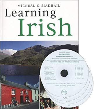 Learning Irish [With CD (Audio)] 9780300121773