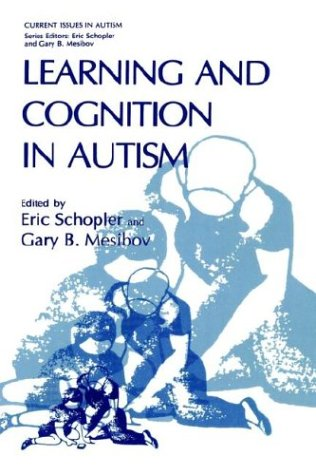 Learning and Cognition in Autism 9780306448713