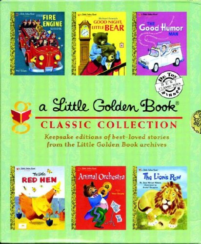 Little Golden Book Boxed Set Classic Collection 9780307340801