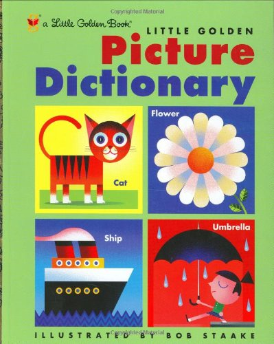 Little Golden Picture Dictionary 9780307960351