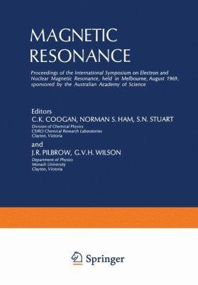 Magnetic Resonance: Proceedings 9780306304873