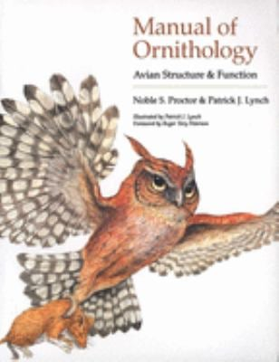 Manual of Ornithology: Avian Structure and Function 9780300076196