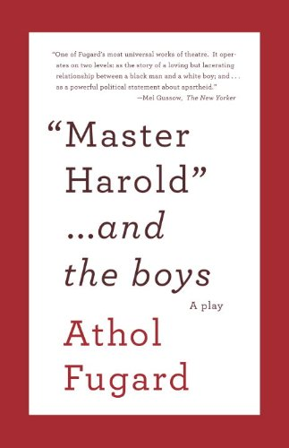 Master Harold ...and the Boys 9780307475206
