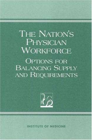 Nations Physician Workforce: Options for Balancing Supply and Requirements