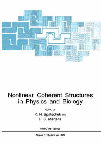 Nonlinear Coherent Structures in Physics and Biology 9780306448034